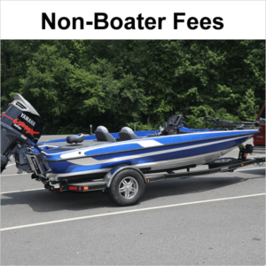 Non-Boater Fees